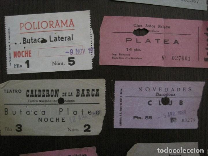 Cine: LOTE 25 ENTRADAS CINE BARCELONA - AÑOS 60 -70 -VER FOTOS-(18227) - Foto 6 - 121807311