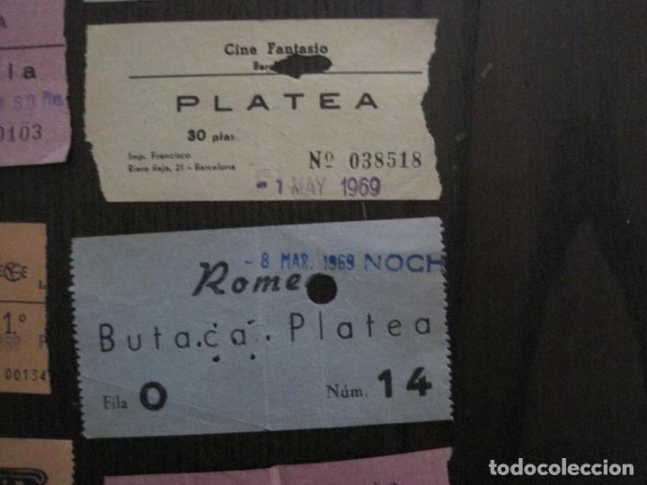 Cine: LOTE 25 ENTRADAS CINE BARCELONA - AÑOS 60 -70 -VER FOTOS-(18227) - Foto 8 - 121807311