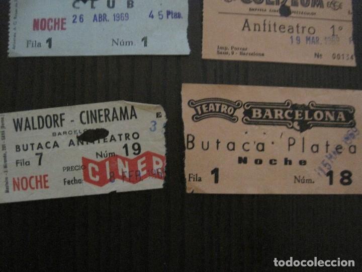 Cine: LOTE 25 ENTRADAS CINE BARCELONA - AÑOS 60 -70 -VER FOTOS-(18227) - Foto 10 - 121807311