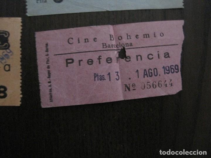 Cine: LOTE 25 ENTRADAS CINE BARCELONA - AÑOS 60 -70 -VER FOTOS-(18227) - Foto 11 - 121807311