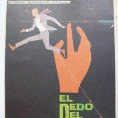 Cine: PROGRAMA DE CINE. EL DEDO DEL DESTINO. . Lote 122791287