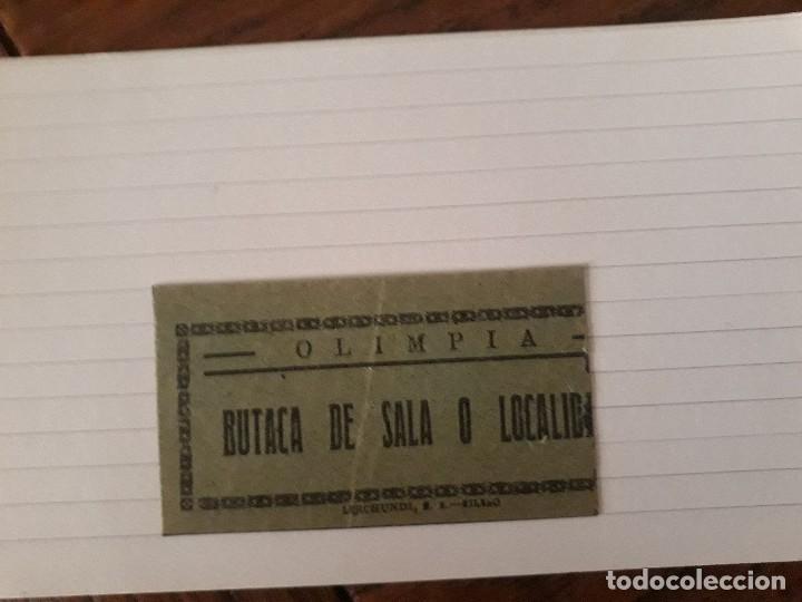 OLIMPIA BILBAO ENTRADA (Cine - Entradas)