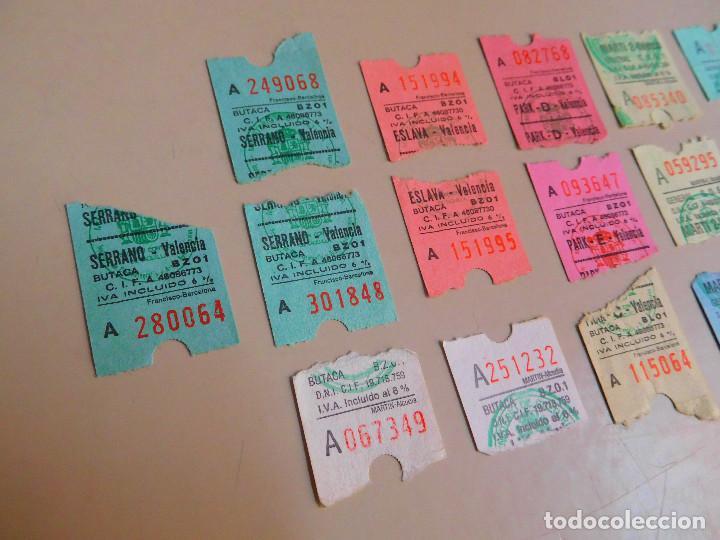 Cine: LOTE 16 ENTRADAS CINES DE VALENCIA AÑOS 80 CINES ABC PARK, CINES MARTÍ, CINE ESLAVA, CINE SERRANO - Foto 3 - 135052526
