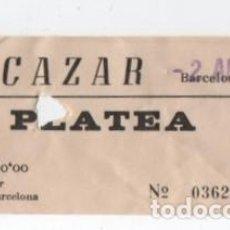 Cine: ENTRADA CINE ALCAZAR. Lote 140208726