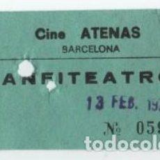 Cine: ENTRADA CINE ATENAS. Lote 140208778