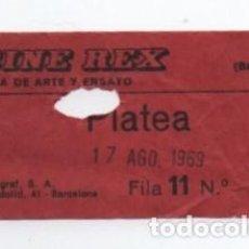 Cine: ENTRADA CINE REX. Lote 140208854