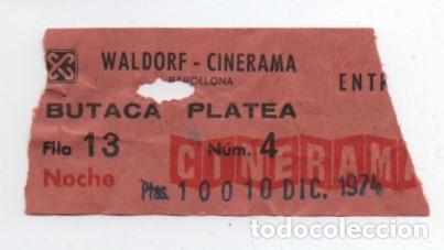 ENTRADA CINE WALDORF (Cine - Entradas)