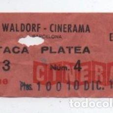 Cine: ENTRADA CINE WALDORF. Lote 140208906