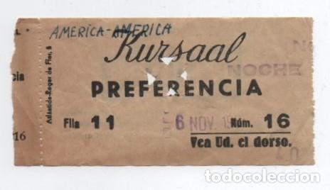 ENTRADA CINE RURSAAL (Cine - Entradas)