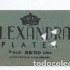 Cine: ENTRADA CINE ALEXANDRA. Lote 140209006