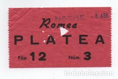 ENTRADA CINE ROMEA (Cine - Entradas)