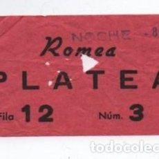 Cine: ENTRADA CINE ROMEA. Lote 140209050