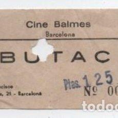 Cine: ENTRADA CINE BALMES. Lote 140209114