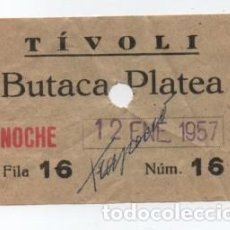 Cine: (ALB-TC-30) ENTRADA CINE TIVOLI. Lote 140209442