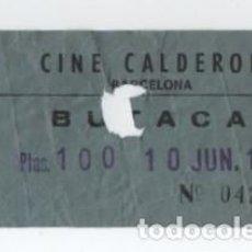 Cine: (ALB-TC-30) ENTRADA CINE CALDERON. Lote 140209582