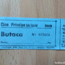 Cine: PDO1- ENTRADAS PARA EL CINE PRINCIPE GRANADA. Lote 143059530