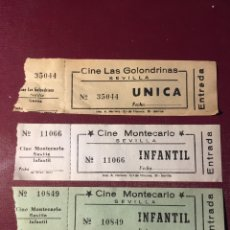 Cine: ENTRADAS CINE DE SEVILLA.. Lote 143849641
