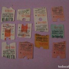 Cinema: ENTRADAS DE CINE, SEVILLA. 1984-1987.. Lote 144496302