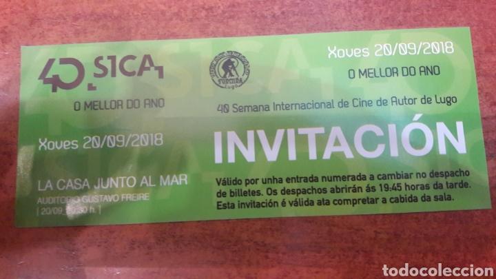 LUGO ENTRADA CINE AUTOR 40 SEMANA LA CASA JUNTO AL MAR 2018 (Cine - Entradas)