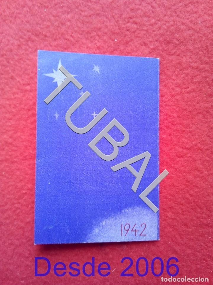 Cine: TUBAL 1942 CINE SAO LUIZ DIPTICO CALENDARIO RIO DE JANEIRO - Foto 4 - 155009254
