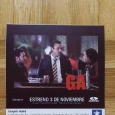Cine: ENTRADA CINE KINEPOLIS - PELICULA GAL - VER FOTO ADICIONAL . Lote 155709954