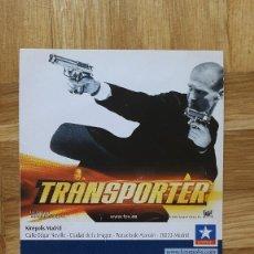 Cine: ENTRADA CINE KINEPOLIS - PELICULA TRANSPORTER - VER FOTO ADICIONAL. Lote 155729146