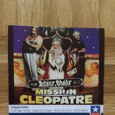 Cine: ENTRADA CINE KINEPOLIS - PELICULA ASTERIX Y OBELIX MISION CLEOPATRA - VER FOTO ADICIONAL. Lote 155729270