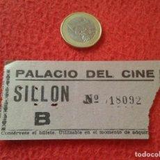 Cine: ANTIGUA ENTRADA TICKET ENTRY ENTRANCE PALACIO DEL CINE MADRID ? SILLÓN SPAIN VE FOTO/S Y DESCRIPCIÓN. Lote 161977814
