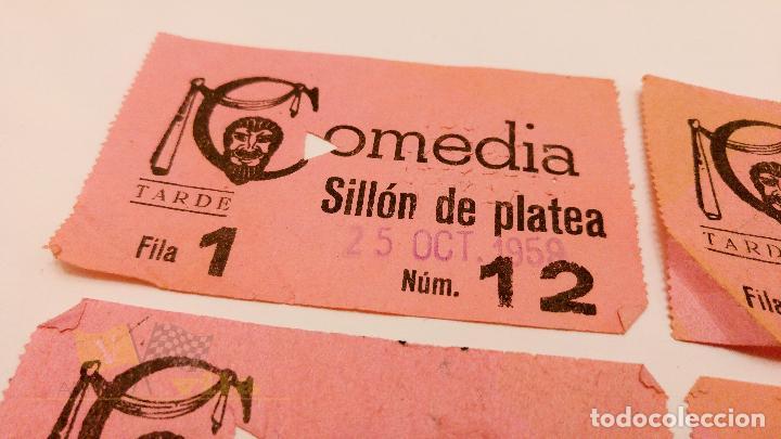 Cine: 4 Entradas para el Comedia de Barcelona - 1959 - Foto 2 - 164157494