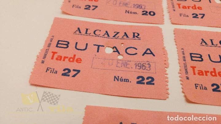 Cine: 5 Entradas Cine Alcazar - Barcelona - 1963 - Foto 2 - 164167990