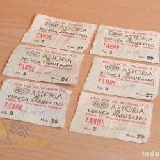Cine: ENTRADAS - EXCISA ASTORIA - AÑOS 60. Lote 165618546