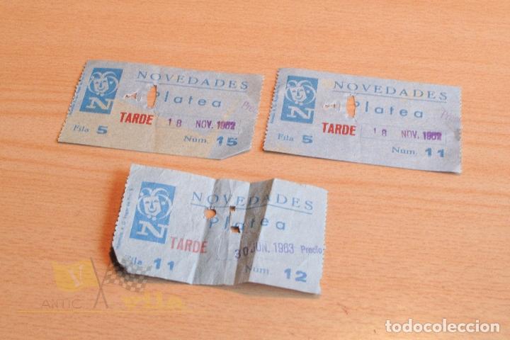 ENTRADAS - NOVEDADES - AÑOS 60 (Cine - Entradas)