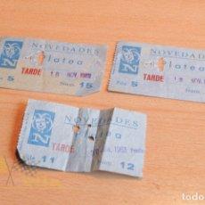 Cine: ENTRADAS - NOVEDADES - AÑOS 60. Lote 165619450