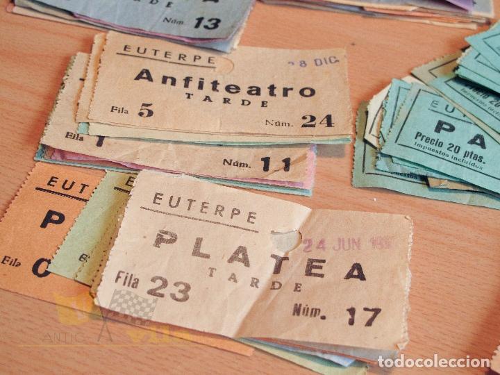 Cine: Lote de Entradas del Cine Euterpe de Sabadell - Años 60 - Foto 3 - 166090418