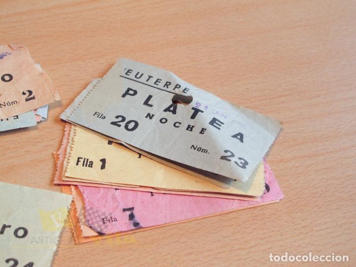 Cine: Lote de Entradas del Cine Euterpe de Sabadell - Años 60 - Foto 7 - 166090418
