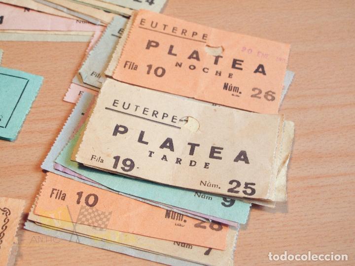 Cine: Lote de Entradas del Cine Euterpe de Sabadell - Años 60 - Foto 8 - 166090418