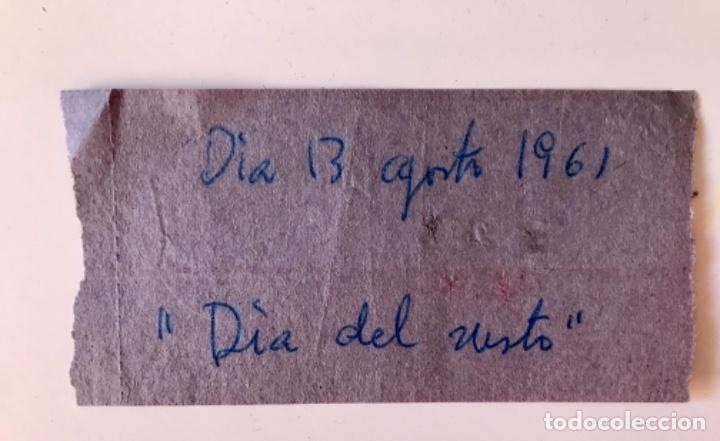 Cine: entrada cine roxi club 13 de agosto 1961 pelicula dia del susto buen estado - Foto 2 - 166135918