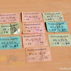 Cine: ENTRADAS CINE FANTASIO - BARCELONA - AÑOS 50 I 60. Lote 166844758