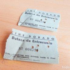 Cine: ENTRADAS CINE DORADO - AÑOS 60. Lote 167182808