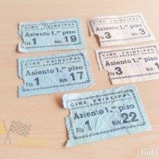 Cine: ENTRADAS CINE PRINCIPAL - SABADELL - AÑOS 60. Lote 167183252
