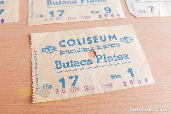 Cine: Entradas Cine Coliseum - 1958 y 1960 - Foto 2 - 167183432