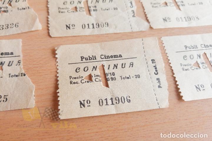 Cine: Entradas Publi Cinema - Años 60 - Foto 2 - 167183704