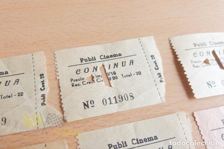 Cine: Entradas Publi Cinema - Años 60 - Foto 3 - 167183704