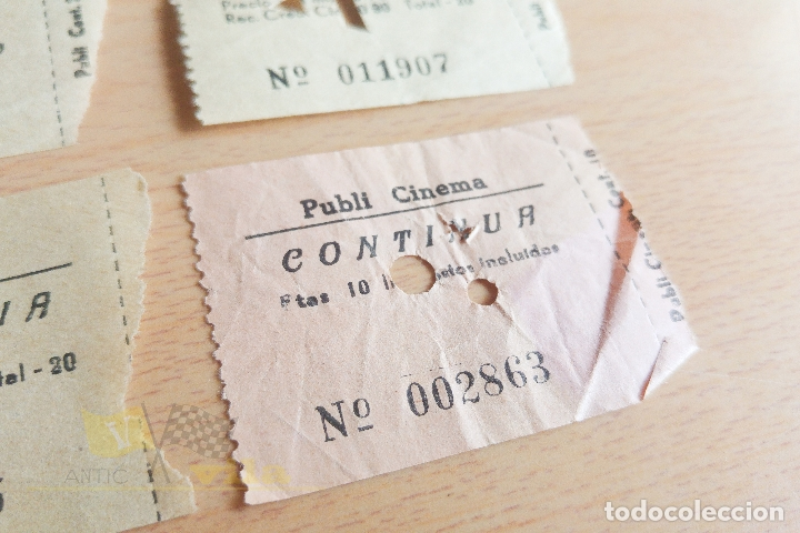 Cine: Entradas Publi Cinema - Años 60 - Foto 4 - 167183704