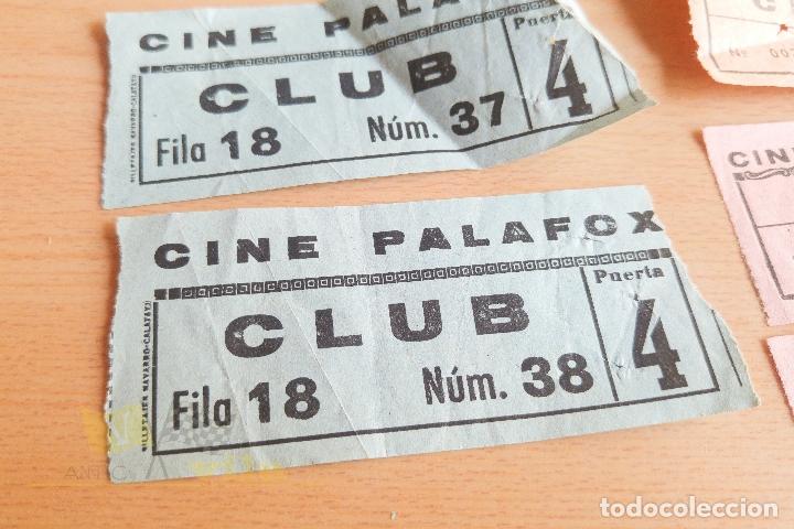 Cine: Entradas Cine Palafox - Años 60 - Foto 2 - 167184120