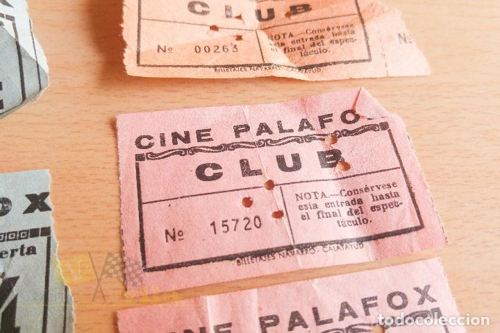 Cine: Entradas Cine Palafox - Años 60 - Foto 3 - 167184120