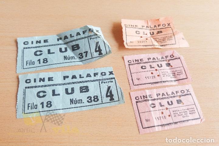 ENTRADAS CINE PALAFOX - AÑOS 60 (Cine - Entradas)