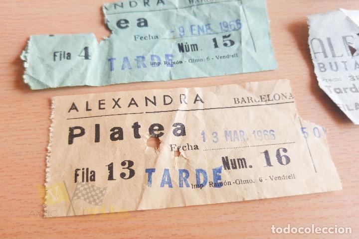 Cine: Entradas Cine Alexandra - Años 60 - Foto 2 - 167184180