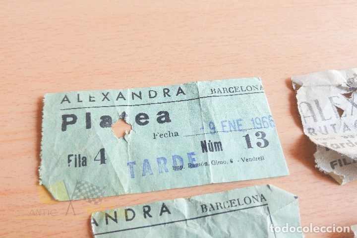 Cine: Entradas Cine Alexandra - Años 60 - Foto 3 - 167184180