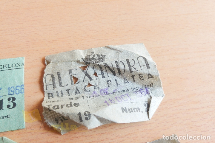 Cine: Entradas Cine Alexandra - Años 60 - Foto 4 - 167184180